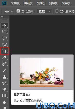 photoshop中载剪工具的运用