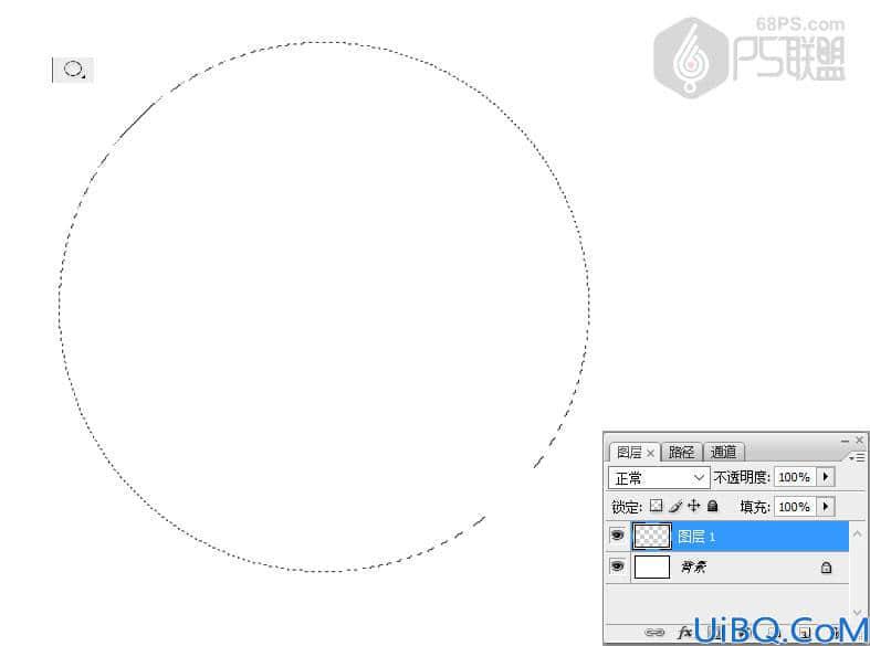 photoshop初级教学同心圆的制作方法