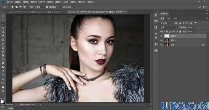 皮肤美白,在Photoshop中给人物进行快速美白