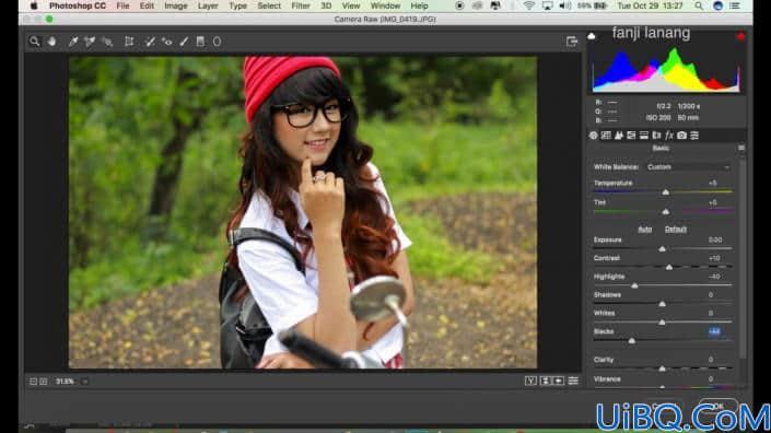 小清新,在Photoshop中制作日系小清新风格色调的照片