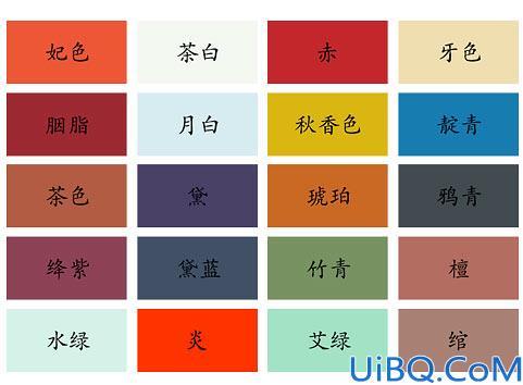 配色知识,网页设计中经典配色
