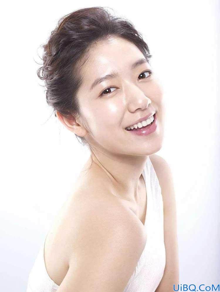利用Photoshop调色技术给美女人物的脸去油光,美女脸部美化处理。