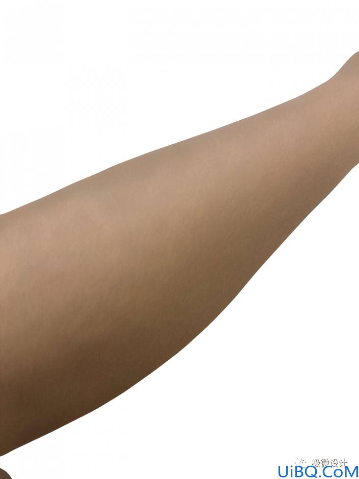 腿部美化,用Photoshop中的滤镜给人物去除腿毛