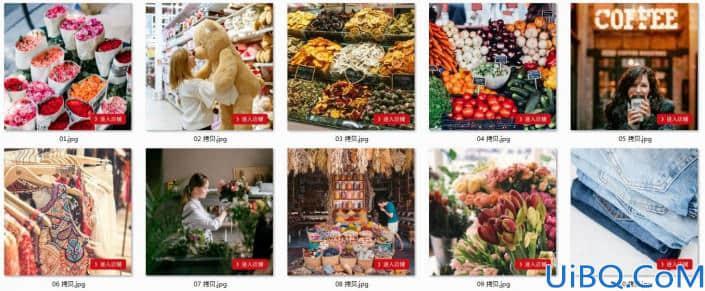 Photoshop批处理教程:学习动作记录给照片进行批处理操作。
