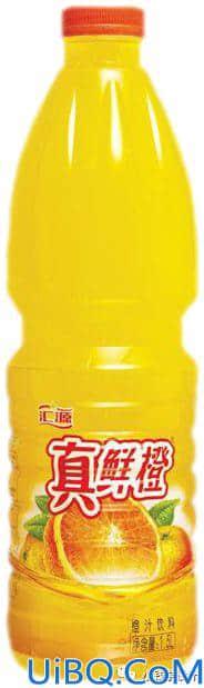 """photoshop创意合成""""橙汁四射""""效果的饮料海报图片,橙汁广告。"""
