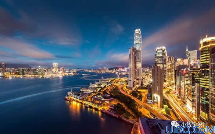 朦胧效果,通过Photoshop给城市夜景打造朦胧效果