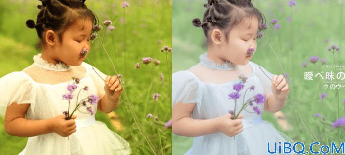 儿童摄影,儿童小清新外景照片修片