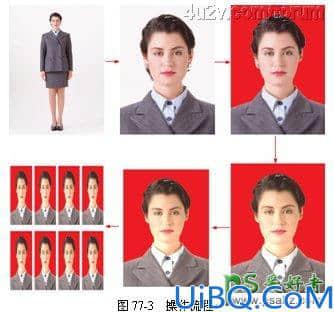Photoshop证件照制作技巧教程:学习怎么把普通照片快速做成证件照片。