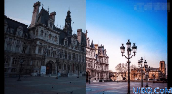 修复欠曝,给欠曝的城市风光照片进行色调恢复