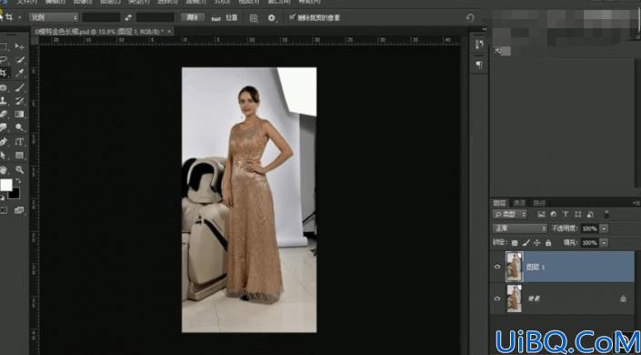 产品修图,通过Photoshop给模特和产品进行精细修图