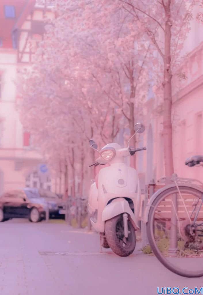 手把手教你用photoshop给照片调出浪漫的粉色调。