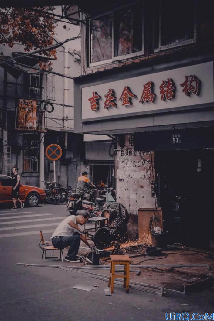 扫街照片,调出人文色调的扫街照片