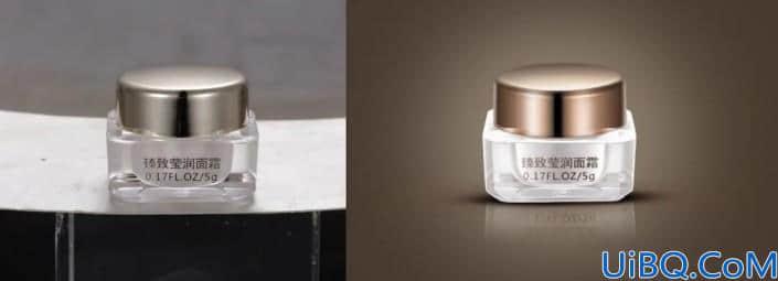 产品修图,给护肤面霜进行精细修图