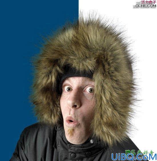 Photoshop抠毛发技巧教程:利用图片混合进背景中的方法快速抠毛发图。